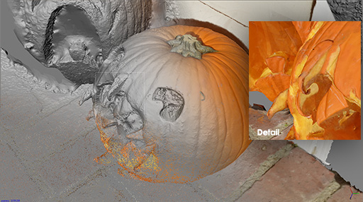 Halloween  Photogrammetry